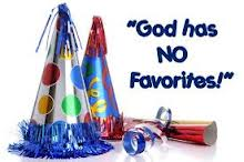 God has no Favorites